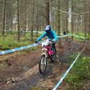 Photo of Hannah BARNES (end) at Greno Woods
