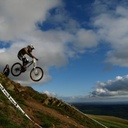 Photo of Greg HORROCKS at Moelfre