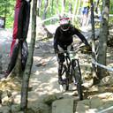 Photo of an untagged rider at Mont-Sainte-Anne, QC