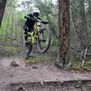 Photo of an untagged rider at Williams Lake, BC