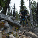 Photo of Alex MELDRUM at Kicking Horse, Golden, BC