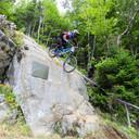 Photo of Gareth BREWIN at Mont-Sainte-Anne, QC
