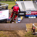 Photo of Greg MINNAAR at Mont-Sainte-Anne, QC