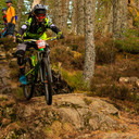 Photo of Christopher GALLAGHER at Laggan Wolftrax
