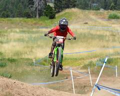 Photo of Teagan HEAP at Tamarack Bike Park, ID