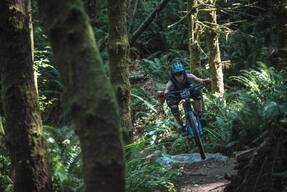 Photo of an untagged rider at Snoqualmie Pass, WA