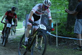 Photo of Gregor RAGGL at Mont-Sainte-Anne, QC