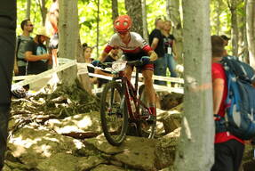 Photo of Haley SMITH at Mont-Sainte-Anne, QC