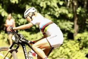 Photo of Jolanda NEFF at Mont-Sainte-Anne, QC
