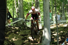 Photo of Quinton DISERA at Mont-Sainte-Anne, QC