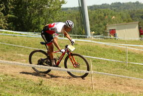 Photo of Filippo COLOMBO at Mont-Sainte-Anne, QC