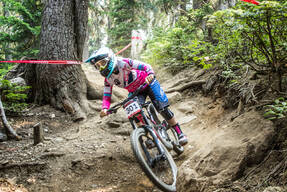 Photo of Tracey HANNAH at Whistler