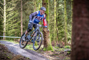 Photo of Jamie TELFER at Kirroughtree Forest