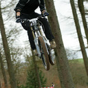 Photo of Chris BALL (1) at Ae Forest