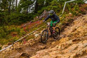 Photo of Connor HALLAS at Mt Washington, BC