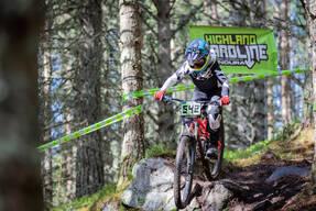 Photo of Jason PURVES at Laggan Wolftrax