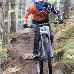 Photo of Lewis DUNCAN at Laggan Wolftrax