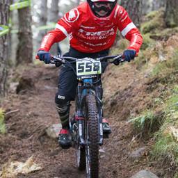 Photo of Matthew COPP at Laggan Wolftrax