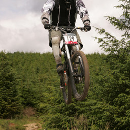 Photo of Chris COATES at Ae Forest