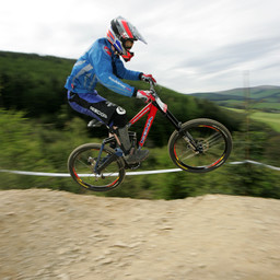 Photo of Chris COATES at Innerleithen