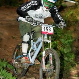 Photo of Pete JOHNSON at Dunkeld
