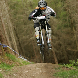 Photo of Kate GEORGE at Innerleithen