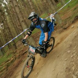Photo of Gareth BREWIN at Innerleithen