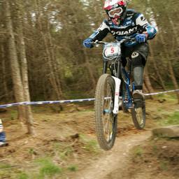 Photo of Rob WARNER at Innerleithen