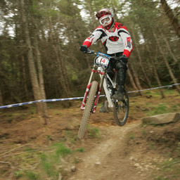 Photo of Dave SMITH (exp) at Innerleithen
