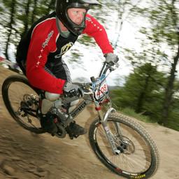 Photo of Keith WILSON at Innerleithen