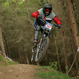 Photo of Dale MCMULLAN at Innerleithen