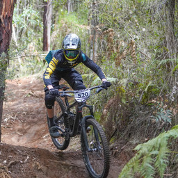 Photo of Nic ROBERTSON at Narbethong, VIC