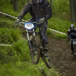 Photo of Lewis MATHESON at Ae Forest