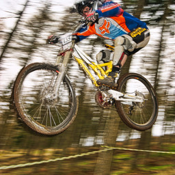 Photo of Alan BLOOD at Ae Forest