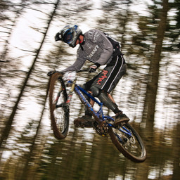 Photo of Stu THOMSON at Ae Forest