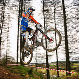Photo of Adam IRWIN at Ae Forest