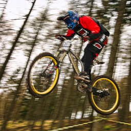 Photo of Ben HALL (mas) at Ae Forest