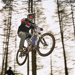 Photo of Martin ROBERTS (vet1) at Ae Forest