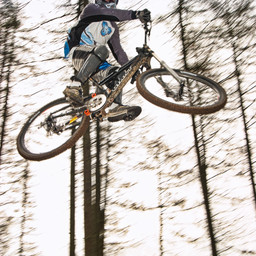 Photo of Ben REID at Ae Forest