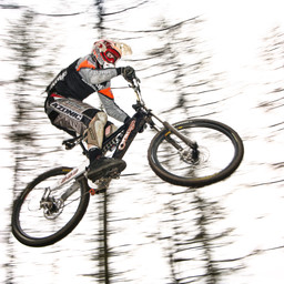 Photo of Sam HORSFALL at Ae Forest