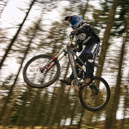 Photo of Josh BRYCELAND at Ae Forest