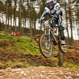 Photo of Ben COX at Ae Forest