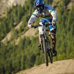 Photo of Mick HANNAH at Livigno