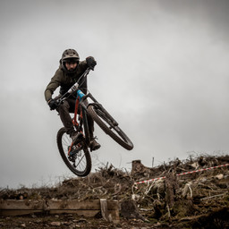 Photo of Oliver RUSHTON at Ae Forest