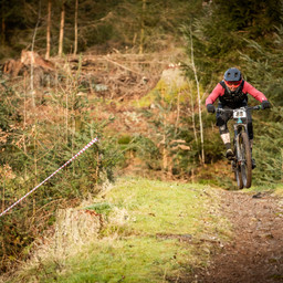 Photo of Chris DIXON (1) at Ae Forest