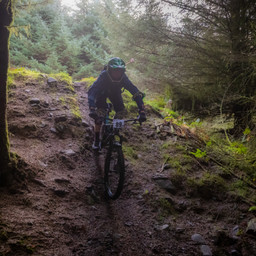 Photo of Dylan CARLINE at Ae Forest