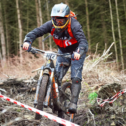 Photo of Steve MELVILLE at Ae Forest