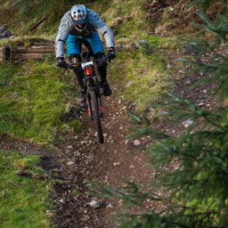 Photo of Chris HEWITT at Ae Forest