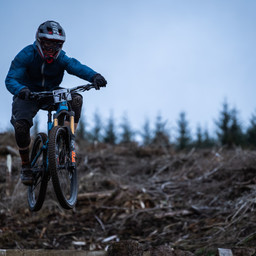 Photo of Nick BARBER at Ae Forest
