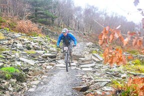Photo of Andrew BROWNING (vet) at BikePark Wales